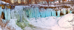The Deep Freeze Continues (Greg Lundgren Photography) Tags: minneapolis minnehaha minnehahafalls waterfall park frozen winter blue ice panorama onlyinmn meetminneapolis cold snow january nature outdoors urban