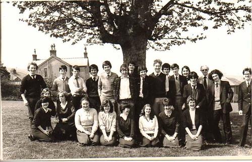 Upper 6th, Holywell High School '83
