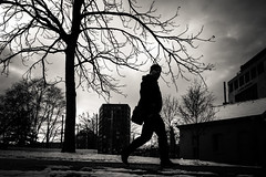 "Day 112/365_Zum Kuss (Frédéric Cottens - Photographie ""brute"") Tags: basel switzerland fuji fujifilm xt2 bw street streetsofmine streetphotography photographiebrute kuss day112 365"