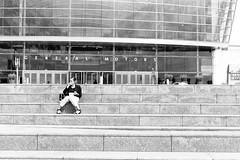 GM RenCen (Detroit Imagery) Tags: trix400 nikonfe2 35mmfilm