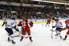 "Missouri Mavericks vs. Allen Americans, March 3, 2017, Silverstein Eye Centers Arena, Independence, Missouri.  Photo: John Howe / Howe Creative Photography • <a style=""font-size:0.8em;"" href=""http://www.flickr.com/photos/134016632@N02/32430580414/"" target=""_blank"">View on Flickr</a>"