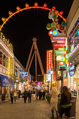 Vegas at Night II (pyrospawn) Tags: sonya7ii nightlife nevada highroller sony1635mmvariotessartfef4zaoss lasvegas cupcakes