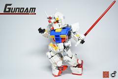 16. Gundam Ballet Side (Sam.C (S2 Toys Studios)) Tags: rx782 gundam mobilesuit legogundam lego moc samc s2toys 80s scifi mecha anime japan spacecraft