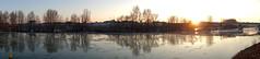 Plein Sud (Photojol) Tags: orleans orléansmétropole loire duit pontroyal pont frasil glace lumière hiver saintjeanleblanc panoramique sud soleilcouchant horizon