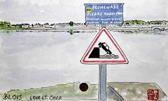 Le Tour de France virtuel - 41 - Loir-et-Cher (chando*) Tags: croquis sketch aquarelle watercolor france
