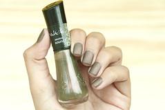 Sound - Vult + Cobertura Fosca - Colorama (coloresdasam) Tags: vult sound colorama coberturafosca nail brownnail