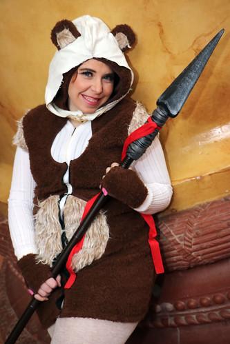 cute ewok girl a photo on flickriver