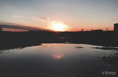 (Kriorge) Tags: woods wild wilderness trail hiking biosphere nature relax reflection water sunset