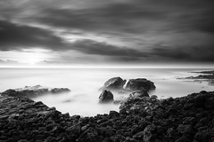 NightToDay (Jason Carpenter) Tags: night kauai blackandwhite sunrise jasoncarpenter manual xf16mmf14rwr landscape gpstagged photoshop 2016 hawaii fujifilm clouds tvc33 xt2 bwfilters reallyrightstuff ocean apsc nd30 bw bh55 fuji hi fujinon jasonc66 longexposure lightroom nightscape