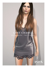 LAST CHANCE - Exclusive Lace Slip Dress (Harry Hyx (ISON)) Tags: mix sl secondlife ison