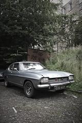 Back street Capri (Dave S Campbell) Tags: west classic ford car vintage mercedes capri scotland glasgow citroen spots porsche badge end landrover speedster 356 hyndland