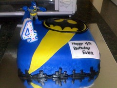 (Amber22406) Tags: birthday blue boy birthdaycake superhero batman fondant