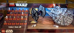 TRU - Force Awaken Lego Display (Darth Ray) Tags: toys for star us force lego display r wars the awakens