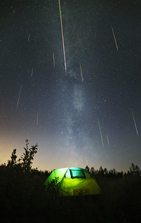 Camping under perseids-2015