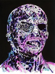 Lucio Fulci's Zombie by John R. Pleak 2015 (johnr.pleak) Tags: halloween illustration watercolor dayofthedead saw artist cosplay zombie halloweencostume convention painter horror monsters zombies fridaythe13th freddykrueger halloweenmask phantasm thestray salemslot horrorfilms famousmonsters fangoria 2015 scarymovie watercolorpainting monstermasks michaelmyers horrorart monsterart johnrpleak johnpleak sketchcardartist jackchattox horroraart