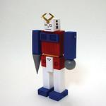 ギフト用木製ロボットの写真