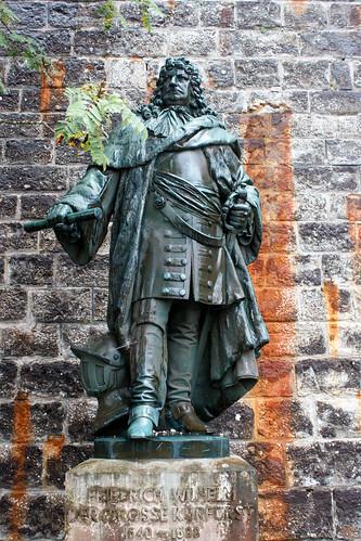 Statue de Frédéric Guillaume Ier de Brandebourg (1640-1688) au château de Hohenzollern