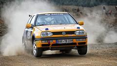 Torsten Brunke - Catarina Blechschmidt // VW Golf III (kly420) Tags: vw golf iii catarina gravel torsten 2015 schotter brunke kiesgrube wp6 blechschmidt rallyezwickauerland kly420 img44581