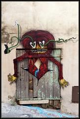 Binho (Gramgroum) Tags: street art graffiti marseille fabio panier lepanier binho nobhi
