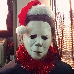 Christmas: the night he comes to YOUR home (the ghost in you) Tags: christmas halloween merrychristmas johncarpenter myers jamieleecurtis michaelmyers theshape