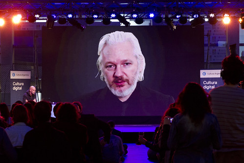 From flickr.com: Julian Assange {MID-116927}