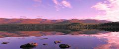 Loch Morlich Panorama (Geordie1970) Tags: panorama reflections scotland nikon funicular redfilter cairngorms lochmorlich scottishhighlands scottishlandscape mirrorreflections scottishloch scotlandscountryside nikon1685mm nikond7100 geordie1970