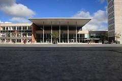 Haus der Kultur und Bildung   Neubrandenburg (_dankhn) Tags: city urban building architecture germany deutschland gebude mecklenburgvorpommern neubrandenburg hkb hausderkulturundbildung