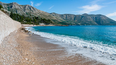 Kupari-DSC_8919 (fjakone) Tags: blue sea beach hotel bay day croatia clear ritz hr dubrovnik turqoise hrvatska kupari dubrovakoneretvanskaupanija zupadubrovacka dubrovakoneretvanskaupanij
