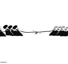 yemen (khalid Albaih) Tags: cartoon saudi syria yemen khalid qatar cartoonist  sudanese        shiaa   illutraion  khartoon sunaa khalidalbaih