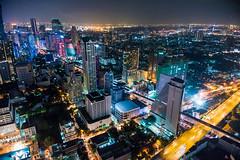 Bangkok Cityscape From The Dome 3744 (smithtecart) Tags: city skyline architecture bar night thailand lights cityscape bangkok aerial explore f28 chaopraya skybar statetower thedome krungthepmahanakhon 14mm thonburi samyang explored lebua totallythailand nikond750