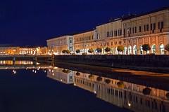 Sera (giorgiorodano46) Tags: italy fiume portici marche senigallia misa notturno lungofiume fiumemisa novembre2015