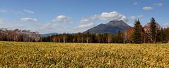 Facing Akan (Spectacle Photography) Tags: travel panorama mountain japan clouds landscape nationalpark hokkaido bluesky paisaje panoramic     paysage akan landschaft  paesaggio tirwedd    akannationalpark  mountakan