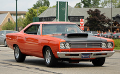 1969 Plymouth Road Runner (SPV Automotive) Tags: road orange classic 1969 car plymouth runner coupe