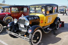 1928 Ford Model A Tudor sedan (sv1ambo) Tags: ford yellow sedan model cab taxi tudor company co 1928 thegreatgatsby a