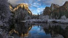 Yosemite Valley in Powder Blue (Darvin Atkeson) Tags: california park mountains clouds forest nevada canyon sierra glacier national valley yosemite halfdome rest bridalveil elcapitan darvin atkeson darv lynneal yosemitelandscapescom