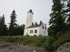 Isle Royale's Rock Harbor Lighthouse (Prairie Star) Tags: lighthouse nationalpark midwest michigan rockharbor isleroyalenationalpark keweenawcounty