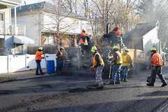 Paving on Staten Island with CM Debi Rose (NYCDOT) Tags: paving statenisland pave milling resurfacing councilmember nycdot newyorkcitydepartmentoftransportation debirose nyccouncilmember councilmemberdebirose millandpave resurfacingseason