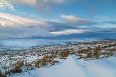 January Snow 2017 067 -  Wessenden Head (Mark Schofield @ JB Schofield) Tags: huddersfield pennines pennineway moors moorland peat nationalpark thenationaltrust marsden scammonden pulehill marchhaigh wessenden wessendenvalley meltham wessendenhead reservoir water watershed snow winter landscape bog rock ice outdoors open space panoramic canon 5dmk3 holmemoss mast