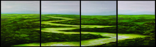 "River-180 - 70 cm oil on canvas <a style=""margin-left:10px; font-size:0.8em;"" href=""http://www.flickr.com/photos/120157912@N02/31646884654/"" target=""_blank"">@flickr</a>"