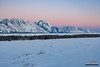 Teton Pink Glow (kevin-palmer) Tags: grandtetonnationalpark nationalpark tetonmountains glacierview wyoming winter december cold snow snowy clear nikond750 tamron2470mmf28 dawn beltofvenus pink sky early morning sunrise newyearseve