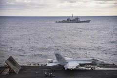ike cvn69 csg10 oir deployment aircraftcarrier atlanticocean