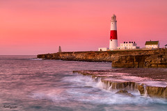 Sunrise at Portland Bill Lighthouse (mpelleymounter) Tags: portlandbill portlanddorset portlandlighthouse lighthouse dorsetseascape dorsetlandscape leefilters leegradnd canon seascape sunrise waves rocks coast coastal coastalscenery trinityhouse trinitylighthouse portland isleofportland monument tide markpelleymounter landscapelocations longexposure sea
