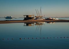 (***stina***) Tags: rotesmeer redesea ocean sonnenuntergang sunset availablelight nikon elgouna egypt ägypten sandbank boot boat strand beach meer sea