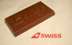 hope the chocolate is Swiss too... (Riex) Tags: swiss swissairlines chocolate chocolat sweet treat food delight delicatessen douceur candy chocho suisse g9x