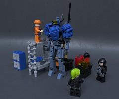 CV-104 Orion (Sunder_59) Tags: lego moc render blender3d mecabricks mech mecha scifi military future vehicle