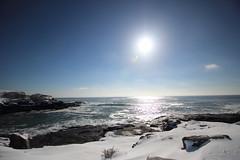 DPP_5157 (dncummings) Tags: york maine january snow coast ocean nature landscape photography coastline nubble lighthouse