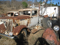 DODGE BROTHERS. (goldiesguy) Tags: goldiesguy automobile auto automobiles antique old outdoors truck rusty rust rustbuckets dodge vehicle vehicles