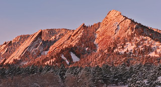 Good Morning Flatirons