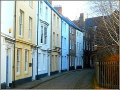 Prince Street in Hull... (** Janets Photos **) Tags: uk hull citycentres oldhouses architecture