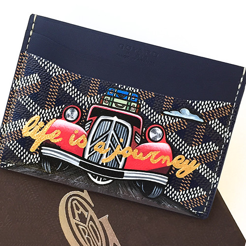 Goyard Life Is a Journey Car